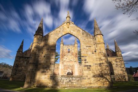 Port Arthur historische Stätte in Port Arthur, Tasmanien, Australien während des Tages.