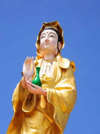 Guan Yin statues photo