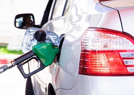 unleaded: Gasoline refill