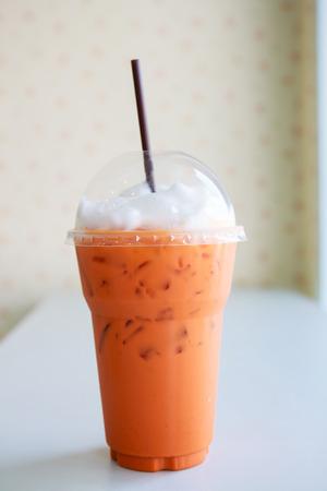 milk tea ice photo