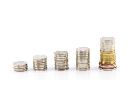 thai money isolated photo
