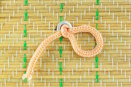 thai bamboo style background photo