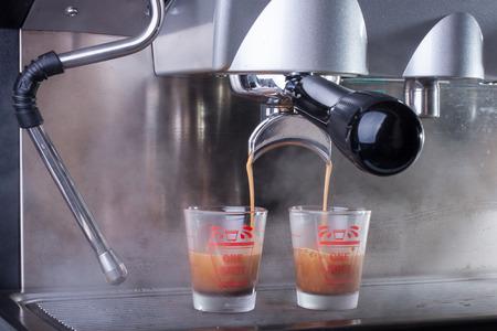 Espresso coffee machine photo