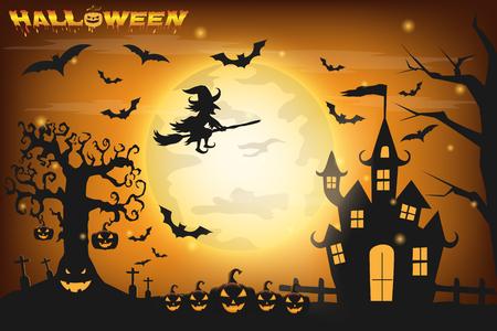 Gelukkig Halloween achtergrond