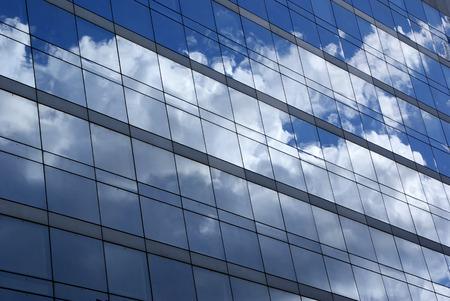 la defense: Reflections in the windows of La Defense
