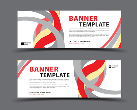 Banner template, web banner, billboard design, header page, Label, Business flyer vertical layout, advertisement, business artwork, abstract background