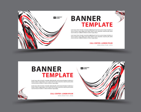 Banner template, web banner, billboard design, header page, Label, Business flyer vertical layout, advertisement, business artwork, abstract background Stok Fotoğraf - 126951079