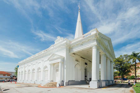 St. Georges Church is a 19th-century Anglican church in the city of George Town in Penang, Malaysia. It is the oldest purpose built Anglican church in South East Asia.