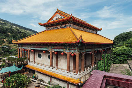 The Kek Lok Si Temple is a Buddhist temple in Penang, and is one of the best known temples on the island. It is said to be the largest Buddhist temple in Malaysia.