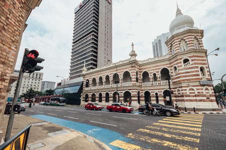 Former FMS Railway headquarters in Kuala Lumpur, Malaysia.