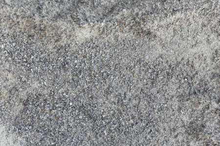 Concrete floor texture with small stone and dust in Sa Pa, Vietnam. Stockfoto