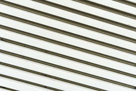 Close up white painted metal Air Grill texture. Perfect for background. Standard-Bild