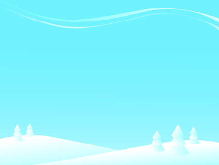 winter landscape Stock Vector - 10400128