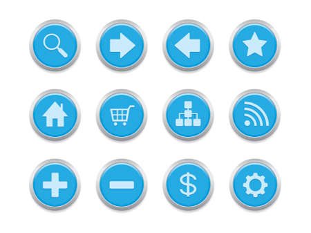 internet icons for website, blog or presentation Vector