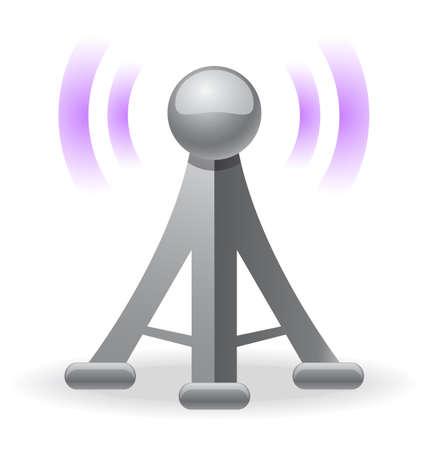 антенны: беспроводной башни значок