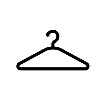 Hanger icon isolated on white background Stock Vector - 79817122