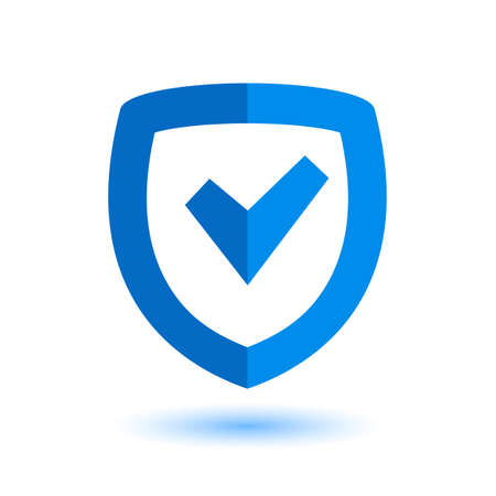 Security icon. Protection icon. Shield icon Çizim