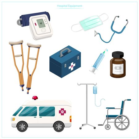 Medical and public health equipment such as pressure gauges, wood, walking aid, syringes, medical masks, wheelchairs, ambulances, which are essential For helping patients