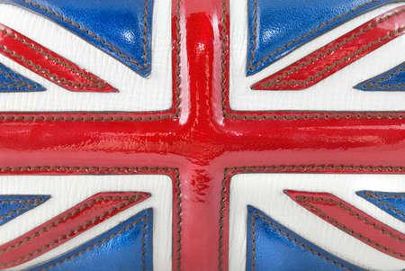 luxury leather british flag Stock Photo - 4798325