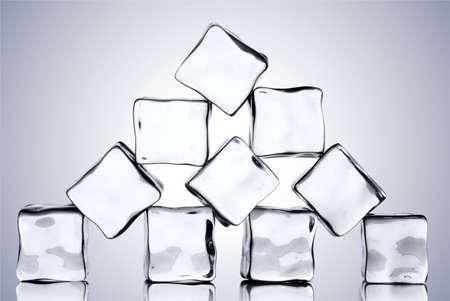ice cubes Stock Photo - 6363825