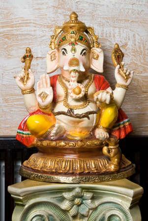 lord vishnu: Statue of Ganesha