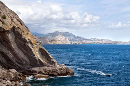 landscape with sea and mountains Stock Photo - 6566377