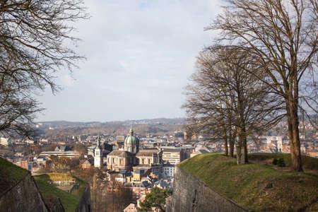 walloon: Cityscape of Namur, Belgium Stock Photo
