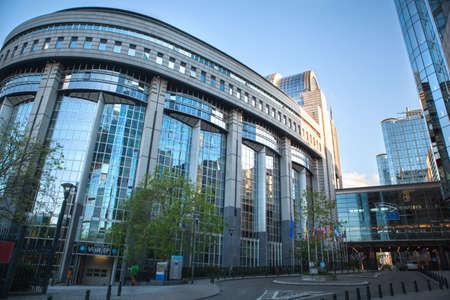 Parlement européen - Bruxelles, Belgique Banque d'images - 23851372