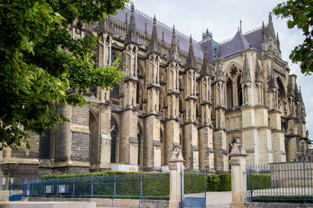 reims: Cathedral Notre Dame in Reims, France