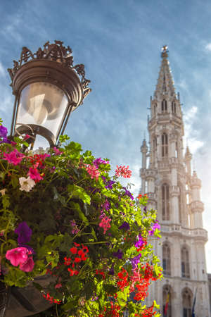 belgique: Grand Place in Brussels, Belgium Stock Photo