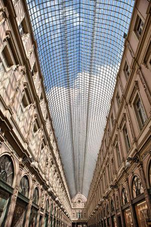 belgique: La galerie de la Reine - shopping gallery in Brussels, Belgium