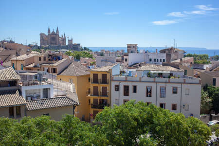 View of Palma de Mallorca photo