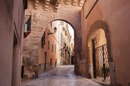 Vieille rue de Palma de Majorque Banque d'images - 40439377