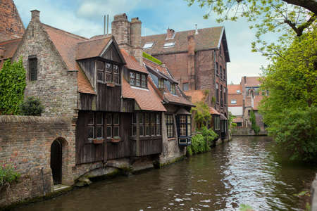 serenety: View of Bruges, old city in Belgium