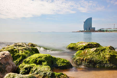 barsa: W Barcelona Hotel, in Barceloneta beach, in Spain