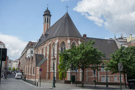 belgien: Church of St. Mary Magdalene
