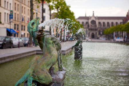 belgique: Fountain in Brussels
