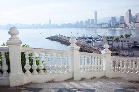 mediterraneo: Benidorm balcon del Mediterraneo Stock Photo