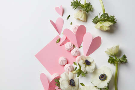 copyspace: Empty copyspace valentine card Stock Photo