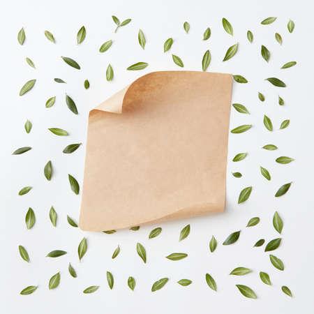paper craft: Viejo papel artesanal Foto de archivo