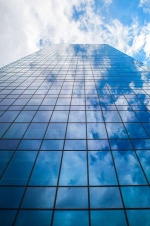 premises: Modern business skyscraper