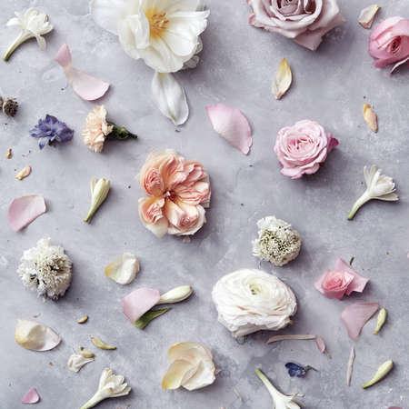 sfondo di fiori Archivio Fotografico
