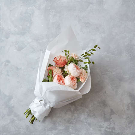 amorousness: Beautiful peach roses