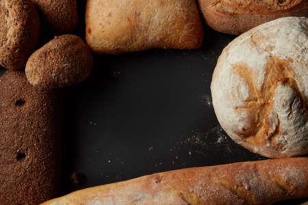 Different of breads Stock Photo