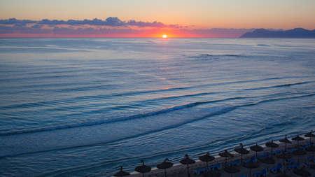 palma: Balearic Islands in Spain Stock Photo