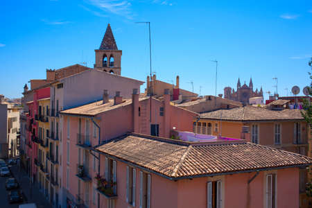 mallorca: View on Palma de Mallorca Stock Photo