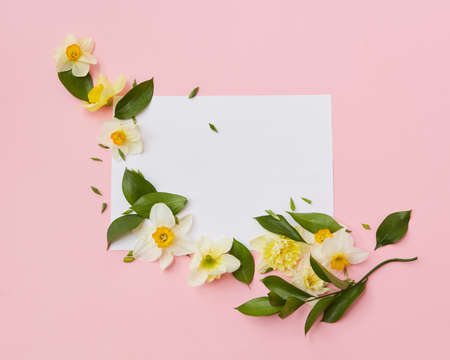 Flowers covering blank copy space Reklamní fotografie