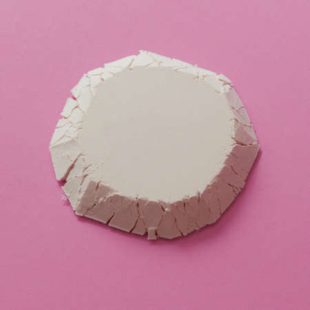 heap: Geometric figure of flour