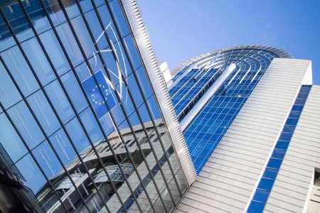 bureaucrat: European Parliament in Brussels . main office in Belgium.