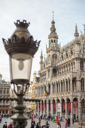 historic guildhall at the Grand Place